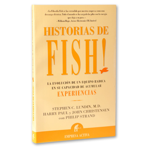 Fish book spanish creators of fish philosophy training for Fish philosophy book
