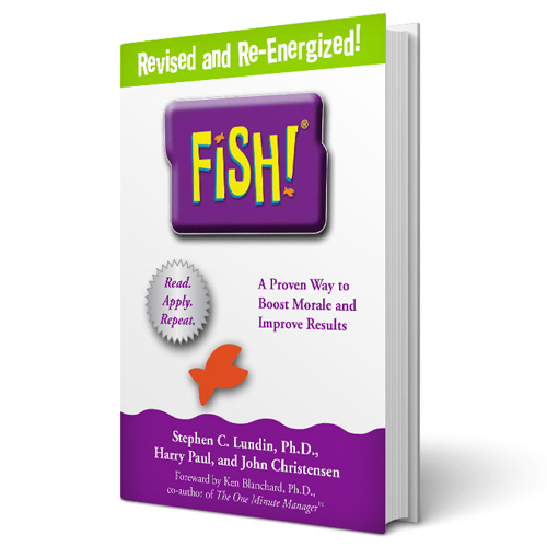 fish the book creators of fish philosophy training ForFish Philosophy Book