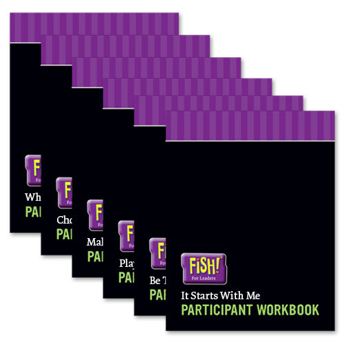 FISH! For Leaders Series - Participant Workbooks