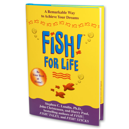Fish for life book creators of fish philosophy training for Fish philosophy book
