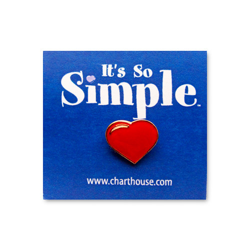 It's So Simple Lapel Pin