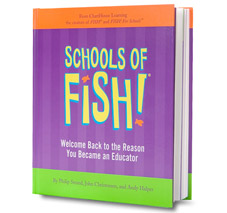 Schools fish philosophy for Fish philosophy book