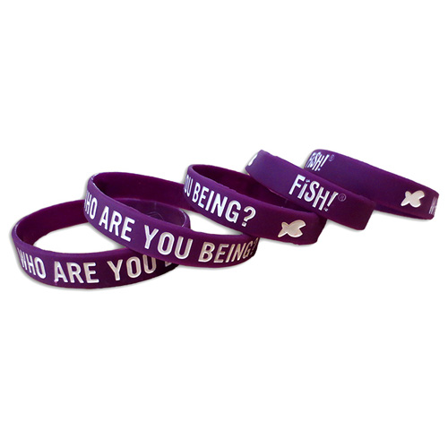 Who Are You Being Wristband